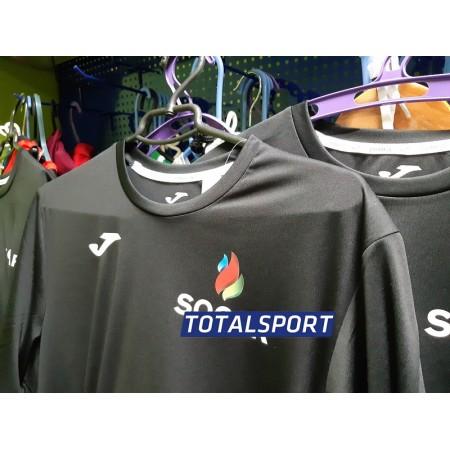 Акция! Футбольная форма Joma(футболка+шорты+гетры) 100052.100 - черная