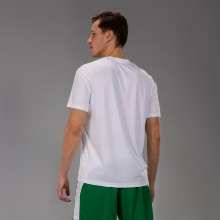 Акция! Футбольная форма Joma Combi белая (футболка+шорты+гетры) 100052.200.1 - бело-черная