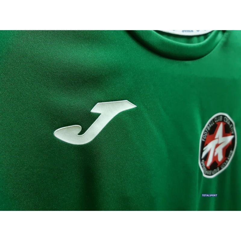 Акция! Футбольная форма Joma Combi(футболка+шорты+гетры) 100052.450.1 - зелено-синяя