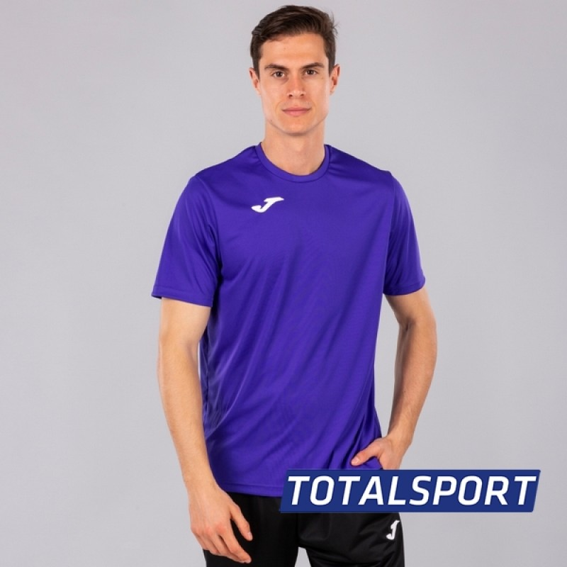 Акция! Футбольная форма Joma Combi(футболка+шорты+гетры) 100052.550 - фиолетовый