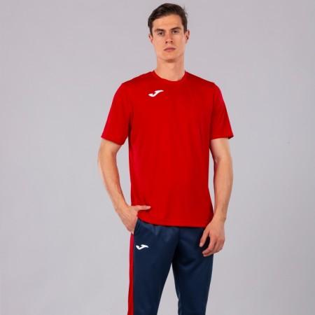Акция! Футбольная форма Joma Combi(футболка+шорты+гетры) 100052.600.1-красно-черный