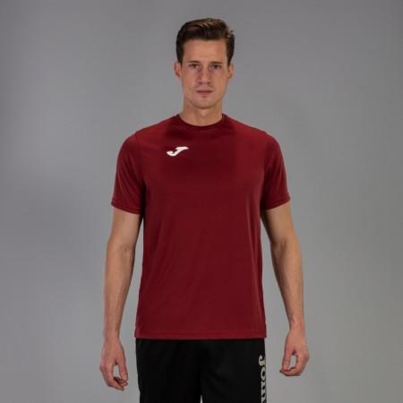 Акция! Футбольная форма Joma Combi(футболка+шорты+гетры) 100052.650 - бордово-черный