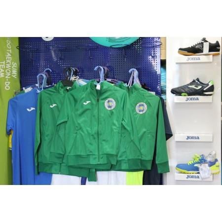 Олимпийка Joma COMBI 100086.450 зеленая