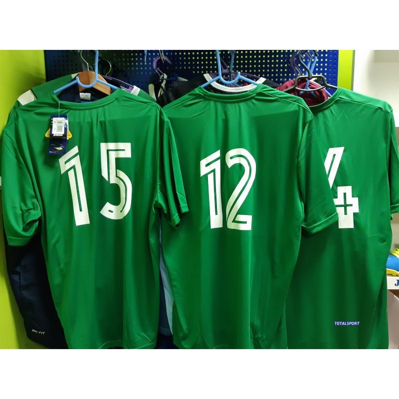Aкция! Футбольная форма Joma Combi зеленая(футболка шорты) 100052.450