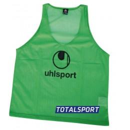 Манишка Uhlsport зеленая 100319303