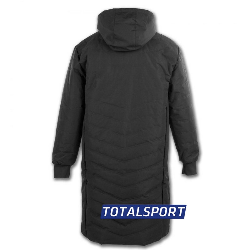 Куртка для тренера и игроков с капюшоном Joma ALASKA 100658.331 черная