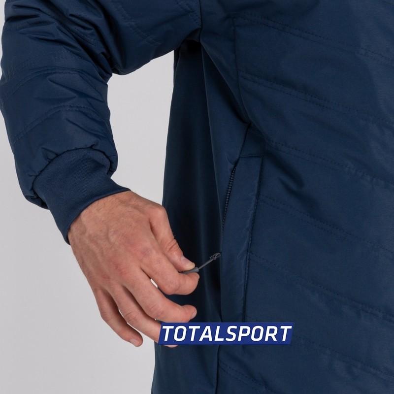 Куртка для тренера иигроков с капюшоном Joma ALASKA 100658.100 синяя
