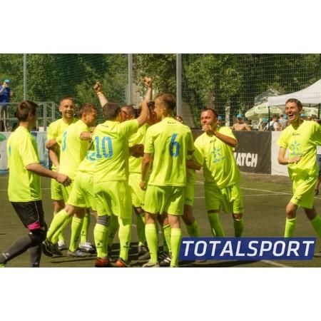Футбольная форма Zeus KIT PROMO футболка желтый+шорты и гетры CALZA ENERGY Z00262