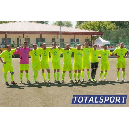 Футбольная форма желтая Zeus KIT PROMO футболка+шорты+гетры Z00840