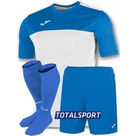 Футбольная форма Joma WINNER 100946.207(футболка+шорты+гетры) бело-голубой