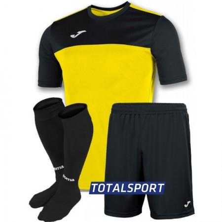Акция! Скидка! Футбольная форма Joma WINNER 100946.901(футболка шорты гетры) желтая