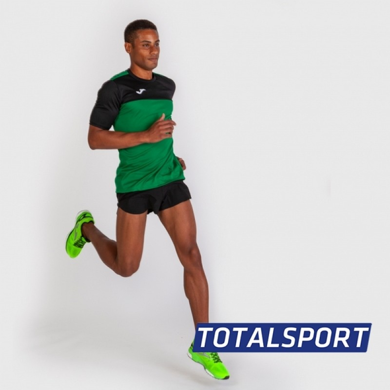 Футбольная форма Joma WINNER 100946.401(футболка+шорты+гетры) зелено-черный