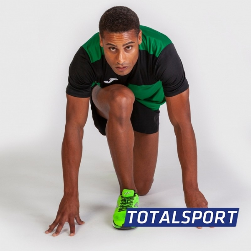 Футбольная форма Joma WINNER 100946.401-2(футболка+шорты+гетры) зелено-черный