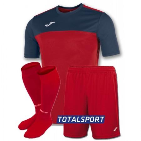 Футбольная форма Joma WINNER 100946.603(футболка+шорты+гетры) красно-т.синяя