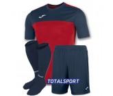 Футбольная форма Joma WINNER 100946.603-3(футболка+шорты+гетры) красно-т.синяя