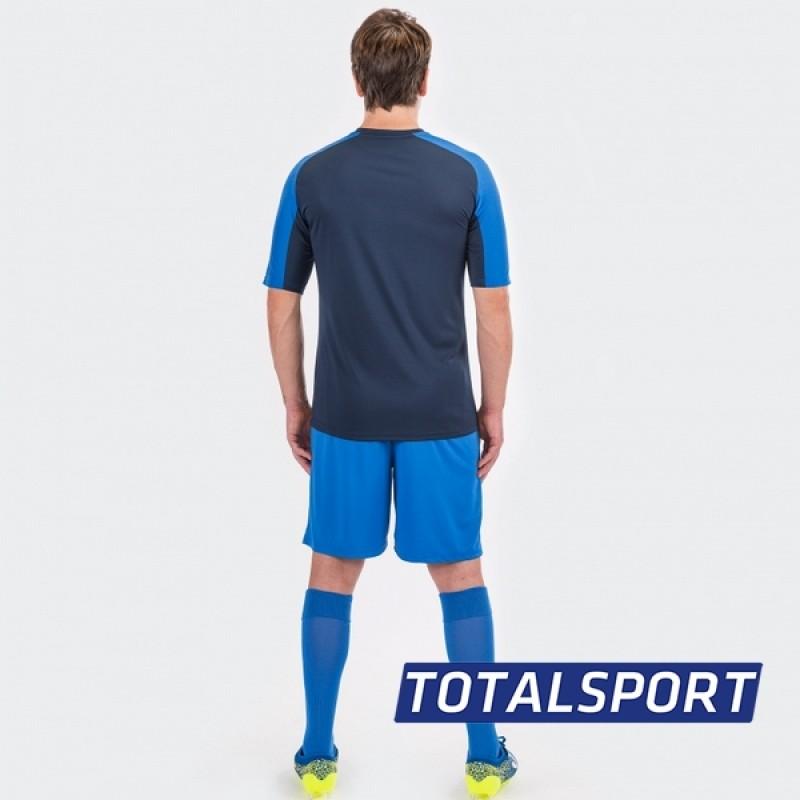 Футбольная форма Joma ESSENTIAL (футболка, шорты, гетры) синяя 101105.307