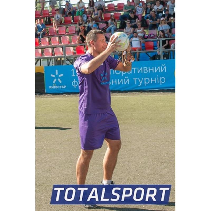 Футбольная форма фиолетовая Zeus KIT PROMO VIOLA футболка шорты Z00265