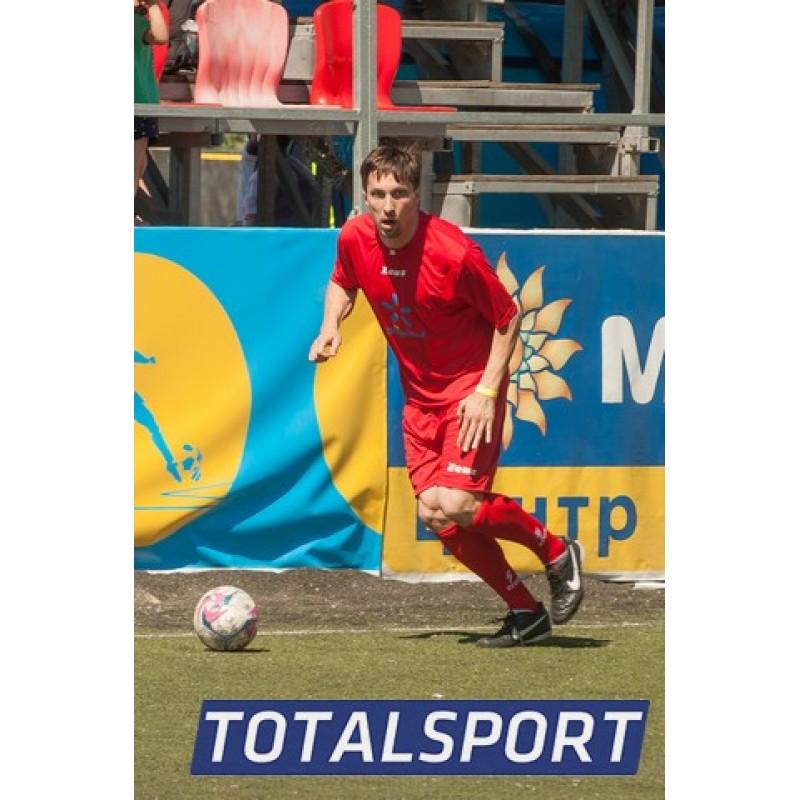 Футбольная форма красная Zeus KIT PROMO ROSSO футболка +шорты Z00264
