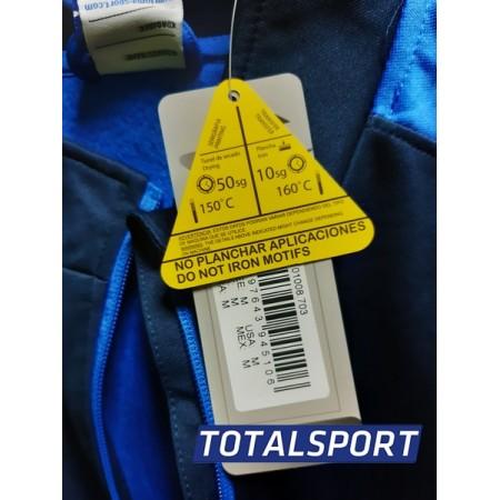 Спортивный костюм JomaWINNER Ukraine 100947.703  100540.331 Украина с замком 3/4 голубой