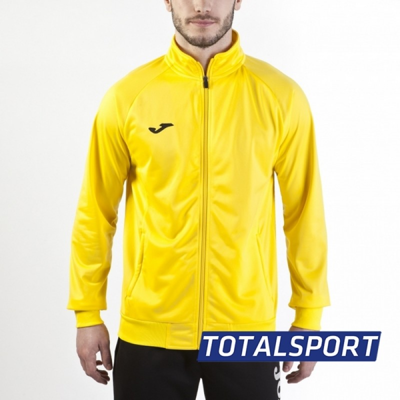 Олимпийка Joma Украина JACKET COMBI 100086.900 желтая