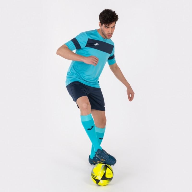 Футбольная форма Joma ACADEMY II 101349.013 бирюзовая футболка, шорты