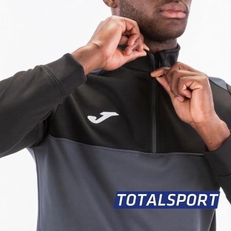 Спортивный костюм JOMA WINNER 100947.151(замок 3/4)серо-черный