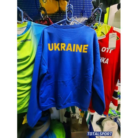 Реглан с лого Украины B&C ID.202 50/50 герб Украины классический