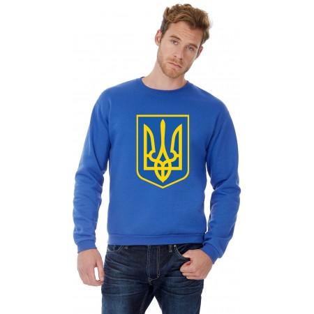 Реглан с лого Украины B&C ID.202 50/50 герб Украины большой