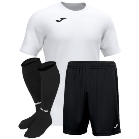 Футбольная форма белая Joma ACADEMY III 101656.200 (футболка+шорты+гетры)
