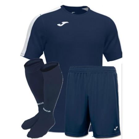 Акция! Новинка! Футбольная форма темно-синяя Joma ACADEMY III 101656.332(футболка+шорты+гетры)