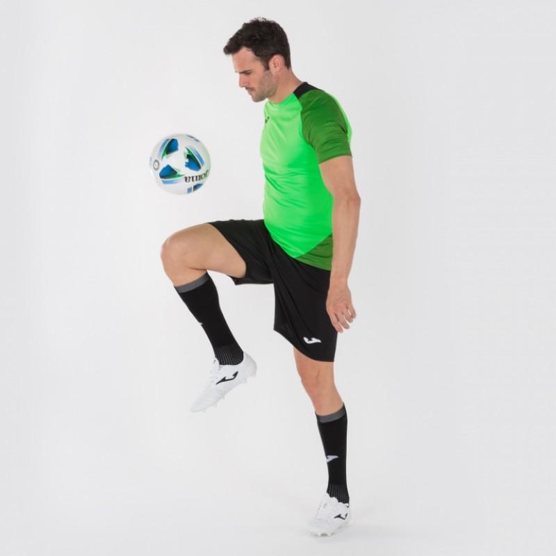 Футбольная форма салатовая Joma ESSENTIAL II 101508.021 (футболка+шорты)