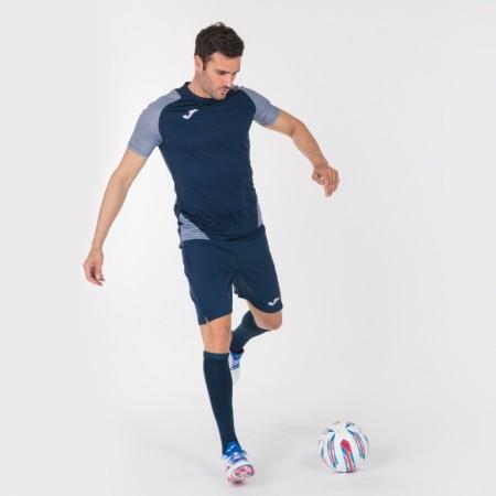 Футбольная форма Joma синяя ESSENTIAL II 101508.332 (футболка+шорты)