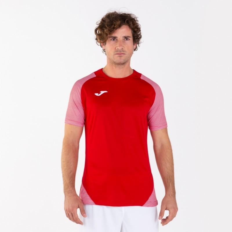 Футбольная форма Joma ESSENTIAL II 101508.602 красная (футболка+шорты)