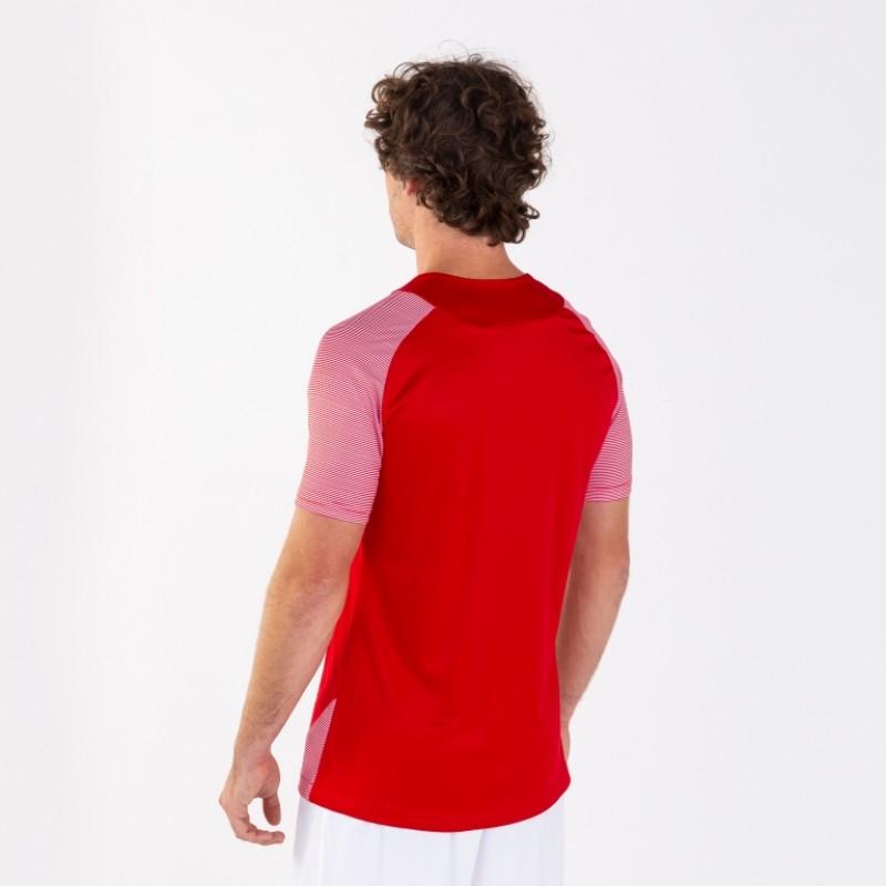 Футбольная форма красная Joma ESSENTIAL II 101508.602 (футболка+шорты+гетры)