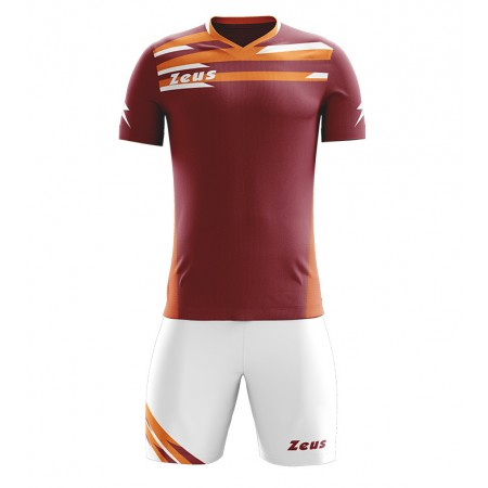Футбольная форма Zeus KIT ITACA GRANATA/ARANCIO