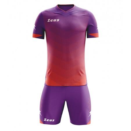 Футбольная форма Zeus KIT Virgo viola solar red