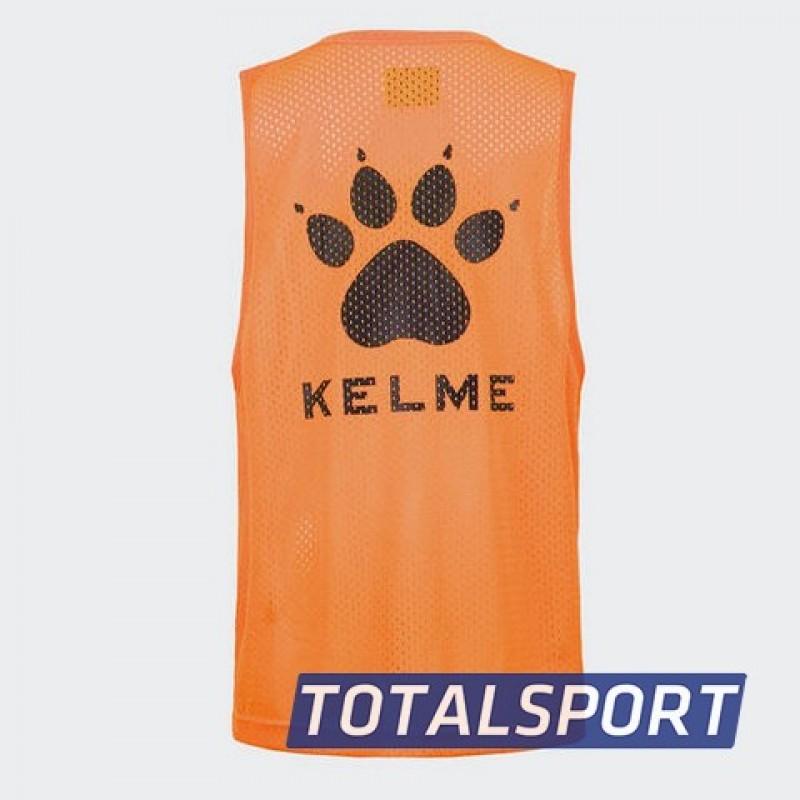 Манишка Kelme K15Z247-932 детская цвет: неоновый оранжевый