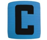 Капитанская повязка взрослая на липучке SWIFT Capitans Band, синяя, Senior