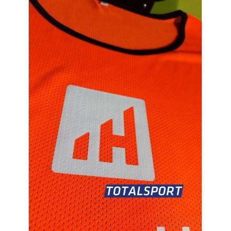 Манишка Europaw 019 взрослая оранжевая - ПРИМЕР с лого