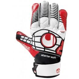 Вратарские перчатки красные Uhlsport ELIMINATOR STARTER SOFT 100018301