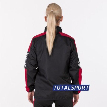 Ветровка женская Joma CHAMPIONSHIP IV 900382.106 черно-красная