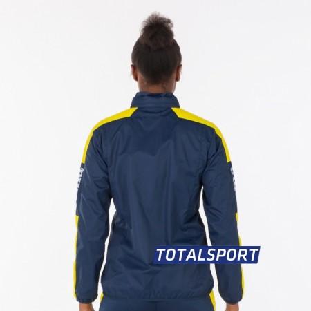 Ветровка женская Joma CHAMPIONSHIP IV 900382.309 сине-желтая