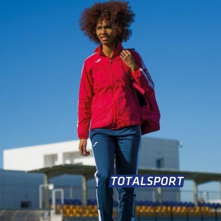 Ветровка женская Joma CHAMPIONSHIP IV 900382.602 красно-белая