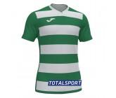 Футболка Joma  EUROPA IV 101466.452 зелено-белая