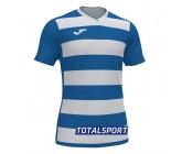 Футболка Joma  EUROPA IV 101466.702 бело-голубая