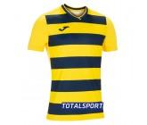 Футболка Joma  EUROPA IV 101466.903 желто-черная