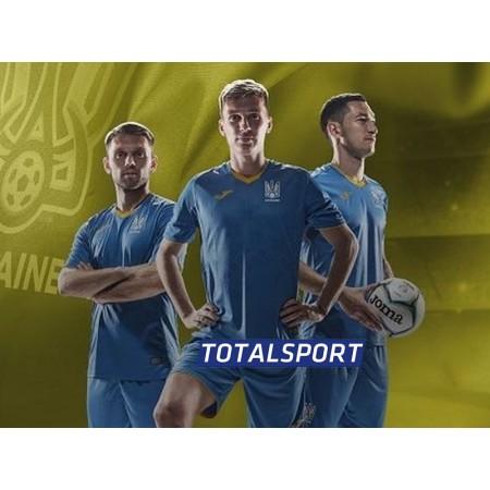 Игровая футболка сборной Украины FF101012.20 синяя