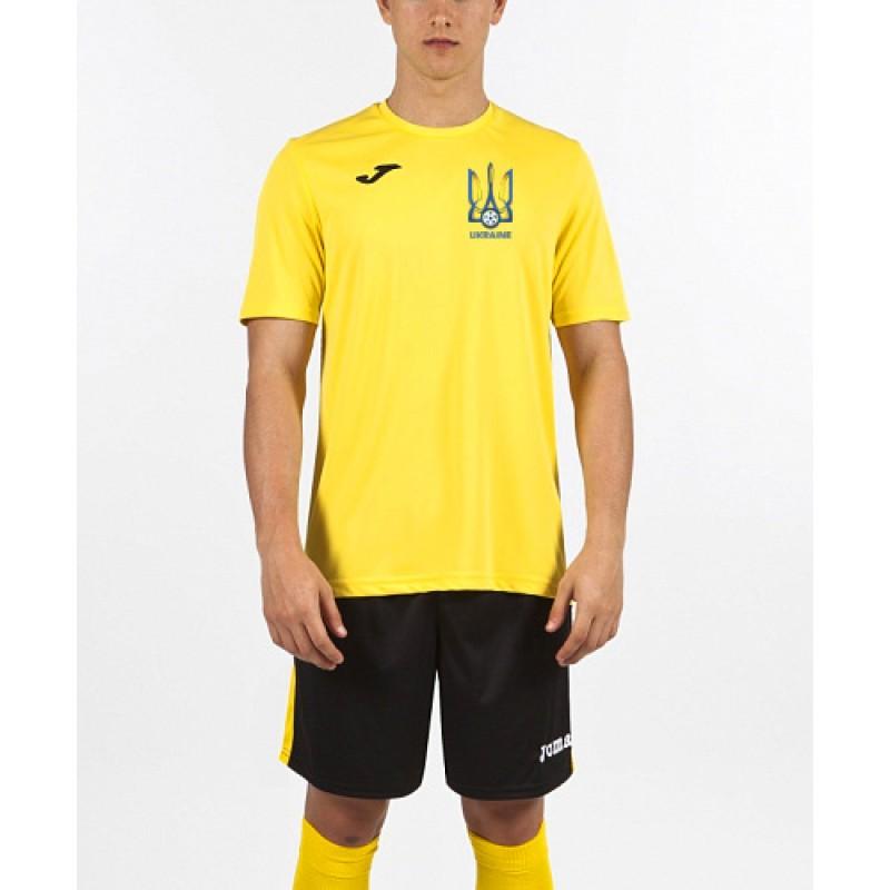 Акция! Хит! Футболка Joma Combi 100052.900 Украина желтая