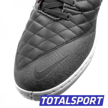 Акция! СуперХит! Футзалки Nike LunarGato II (черные) 580456-080