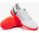 Футзалки Nike LunarGato II (серо/красн) 580456-060